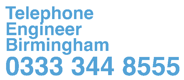 Telephone Engineer Birmingham, Telephone Systems Engineers, Cabling and Cat 5